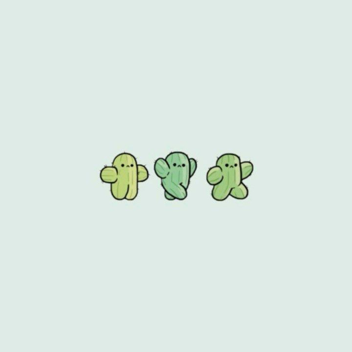 People Are Not Cactuses Iphone Wallpaper Paper Cactus Succulents Wallpaper