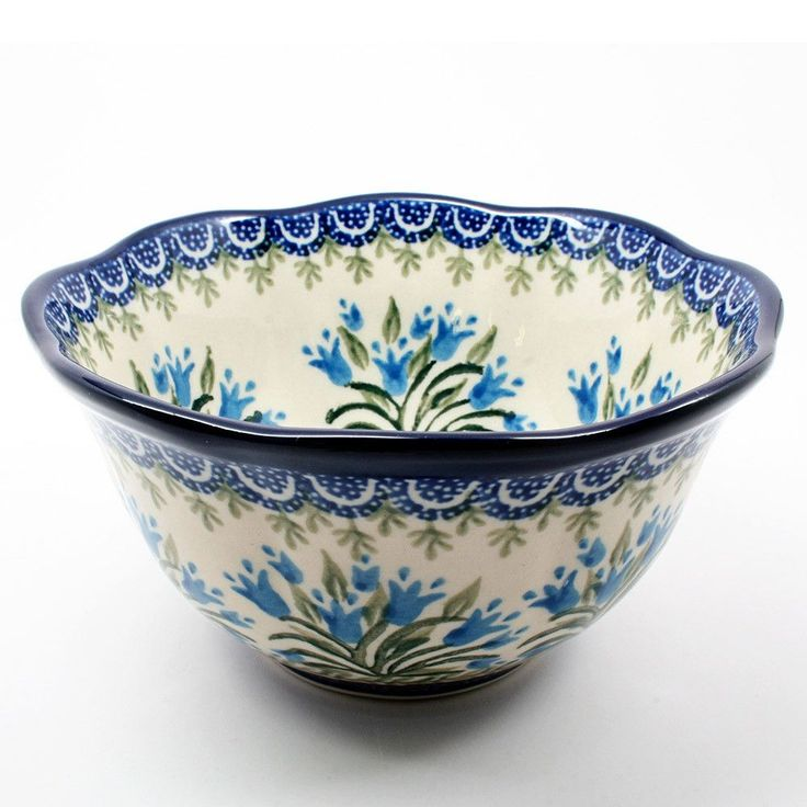 Large Scalloped Bowl #1432