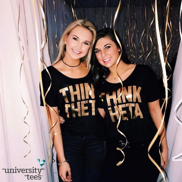 ✨g✨o✨l✨d✨ | Kappa Alpha Theta | Made by University Tees | universitytees.com