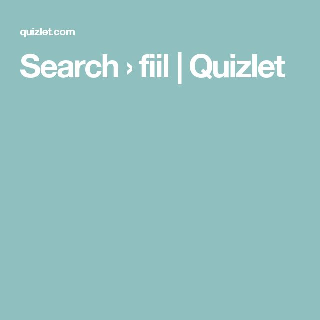 Search › fiil | Quizlet
