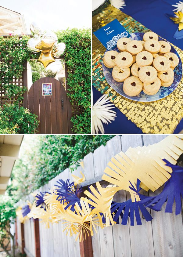 Fantastic Doctor Who Themed Baby Shower // Hostess with the Mostess®