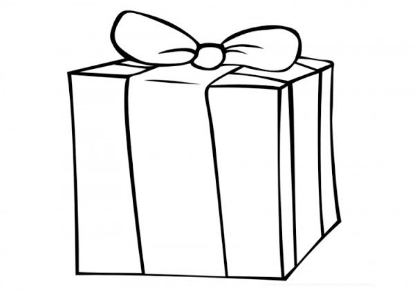 Disney Printable Coloring Pages Christmas Ribbon Gift Box Coloring Pages 25282 2529 Color Pictures Of Presents Coloring Pages Free Printable Coloring Pages