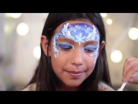 Frozen Face Painting Series - Part 2 - YouTube