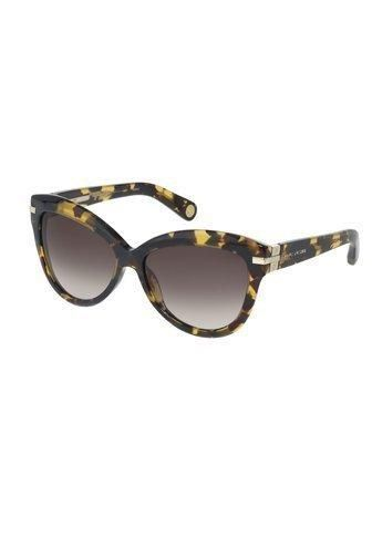 Marc Jacobs Collection, sunglasses. Retro cat eye sunglasses featuring logo detail at temple arm. Ships with white hard clamshell case, bag and cleaning cloth. More Details