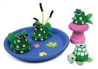 Crazy Clay Pot Crafts