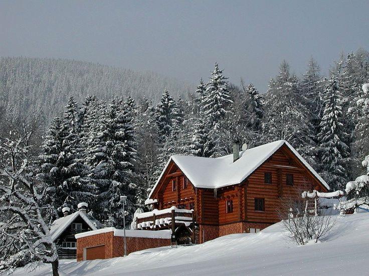 Accommodation - Srub Kašparáci in Jansko Lazne http://www.region-krkonose.cz/ubytovani/janske-lazne/penziony/srub-kasparaci/