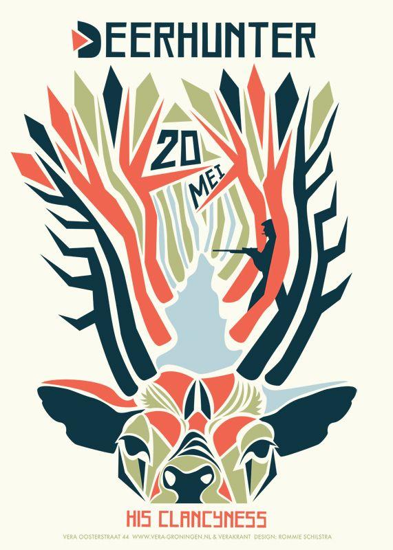 Deerhunter music gig posters | Gig posters on Behance