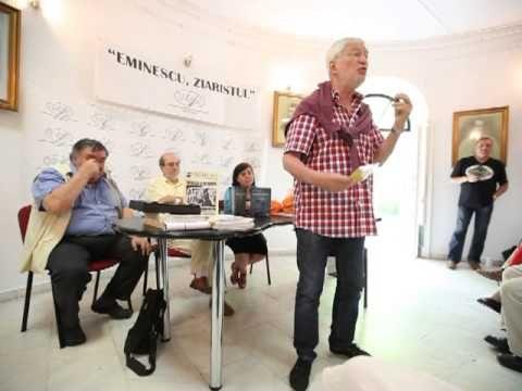 """Eusebiu Stefanescu la Premiile UZP """"Eminescu, ziaristul"""" - 28 iunie 2013..."""