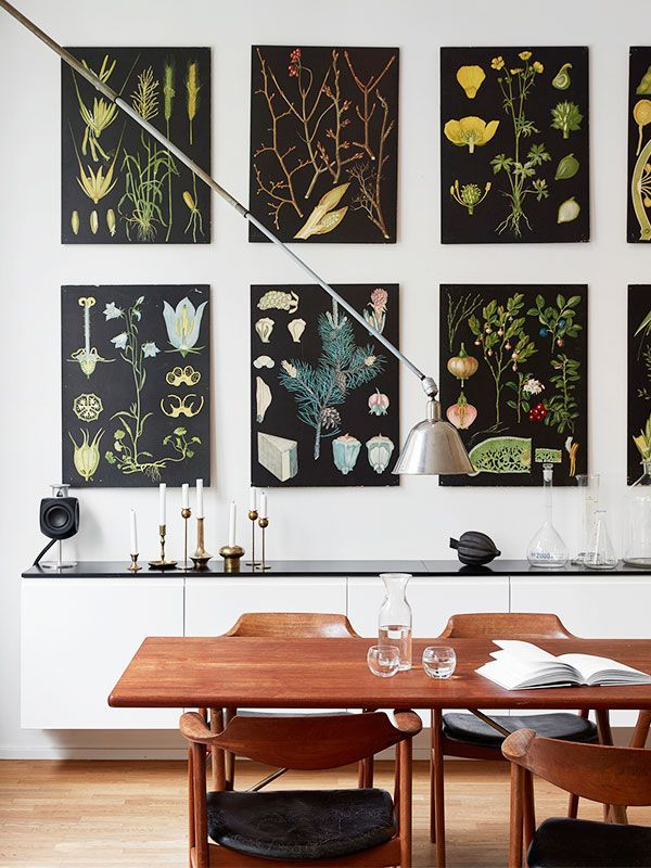 16 Large Wall Art Ideas To Fill Those Blank Spaces Dining Room