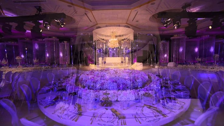 royal wedding crystal fairy breath theme in habtoor grand hotel by olivi