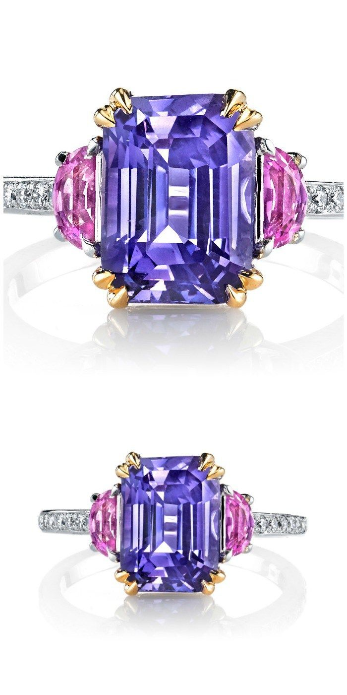 1000+ ideas about Pink Sapphire Ring on Pinterest ...