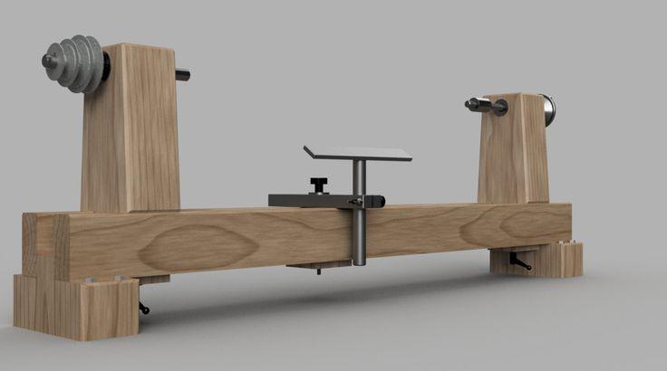 Construir un torno de madera por NixDigitalDownloads en Etsy