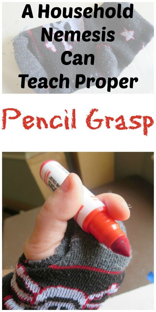 Pencil Grasp, Help to write with out having to adjust the fingers. Helps build up comfortableness with holding a pencil in that way.