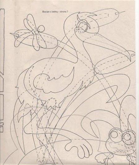 gólyatábor sablon