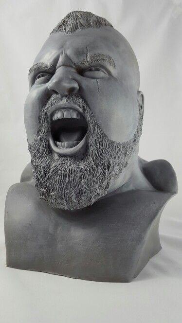 Strongman Eddie Hall  www.lukewelchsculpture.com
