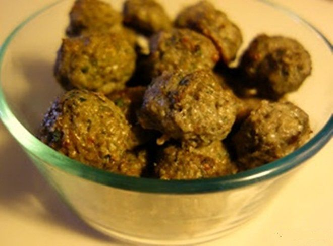 Mushroom turkey meatballs | Food for the apartment | Pinterest