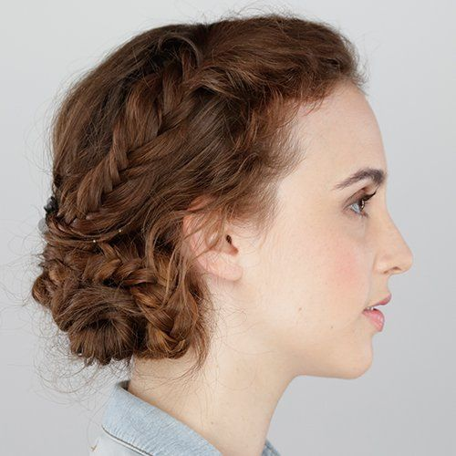 Simple Hairstyle Ideas For Curly Hair : Best ideas about easy curly hairstyles on