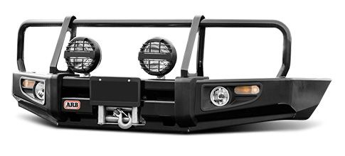 Off-Road Front Bumper Options | Push Bars, Brush Guards & Skid Plates