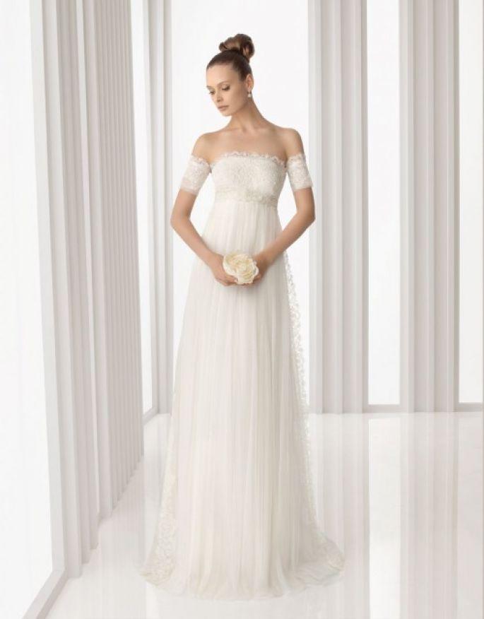 Resultado de imagen para vestidos de novia corte imperio