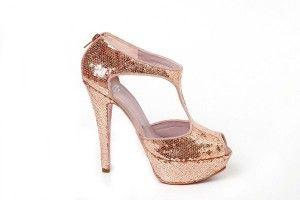 Zapato color champagne!