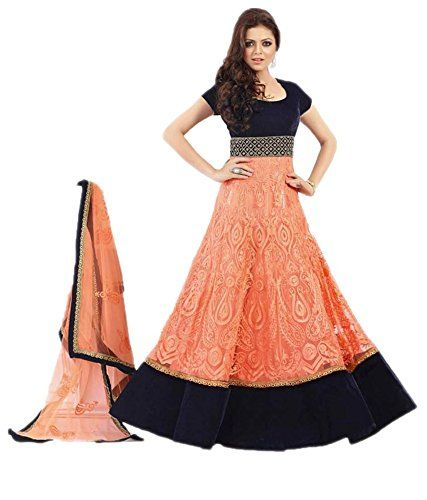 Stutti Fashion Orange Color Georgette Semi-stitched Dress Material, give you different looks. Include yourself in the glamour of the season with this suit. These Suit are mostly wearing option in formal wear, parties and weddings. Exclusive Anarkali Dress always give and attractive look in your important occasions/events.