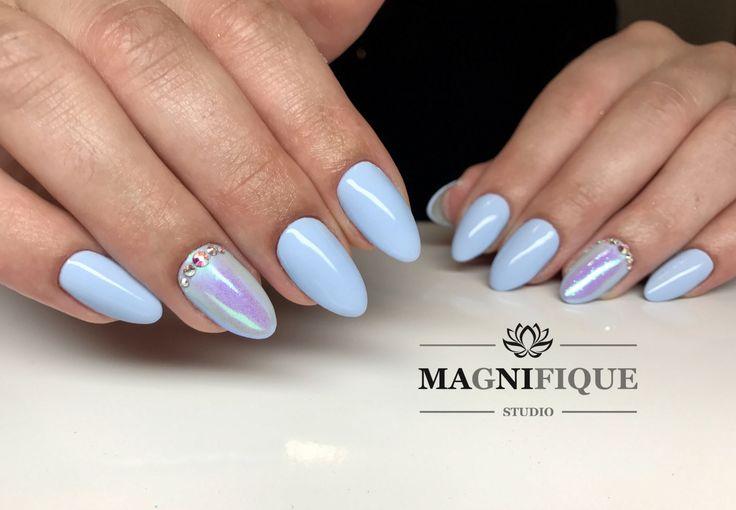 Indigo gel polish Unicorn Blue Nails Syrenka Black 2