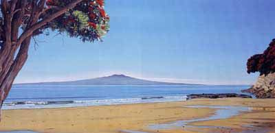 Check out Takapuna Summer by Alison Gilmour at New Zealand Fine Prints