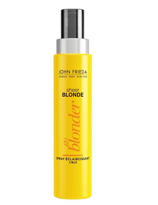 prcis spray eclaircissant go blonder john frieda 890 - Eclaircissant Cheveux Colors