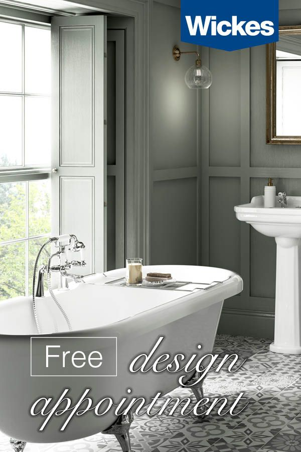 Book Your Free Design Appointment At Wickes Today With A Wide Range Of Stunning Bathrooms To Choose Bathroom Inspiration Decor Bathroom Design House Bathroom
