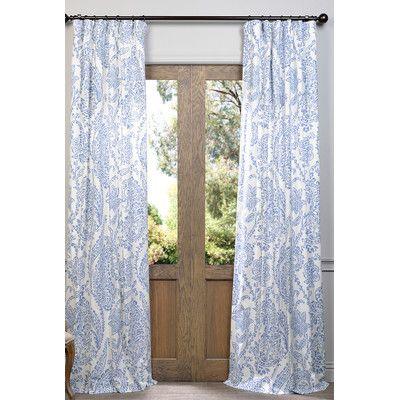Half Price Drapes Paisley Single Curtain Panel U0026 Reviews | Wayfair