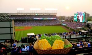 Groupon - All-Inclusive Rooftop View of Cubs Game Including Opening Day at Lakeview Baseball Club (April 11–June 20)  in Lakeview Baseball Club - Cubs Rooftop. Groupon deal price: $79