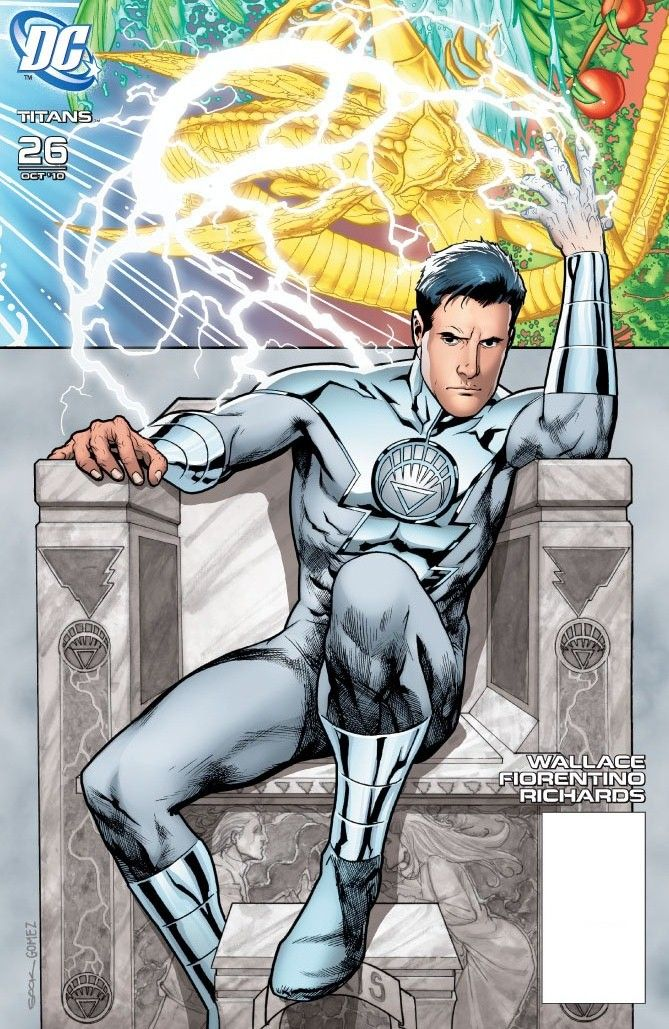 Titans Vol 2 26 - White Lantern
