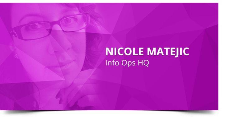 #20 Nicole Matejic on Social Media in Modern Warfare #socialmedia #podcast