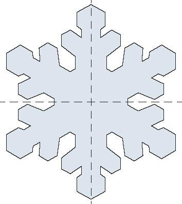 Snowflake Template On Pinterest Paper Snowflake Patterns | Review ...