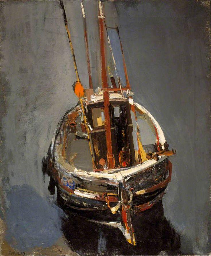 Seine Boat by Joan Eardley