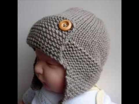 Baby Aviator Hat Regan - Knit Baby Hats Pattern Presentation - http://www.knittingstory.eu/baby-aviator-hat-regan-knit-baby-hats-pattern-presentation/