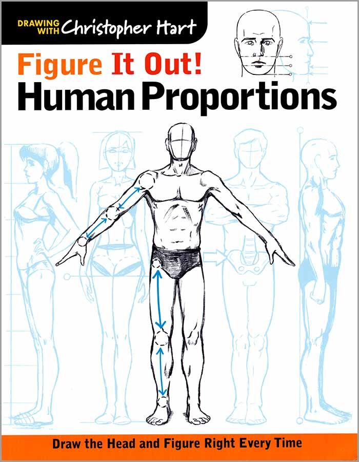 Human Proportions by Chris Hart