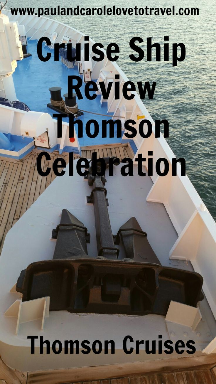 We spent a week cruising on the thomson celebration here s our cruise ship