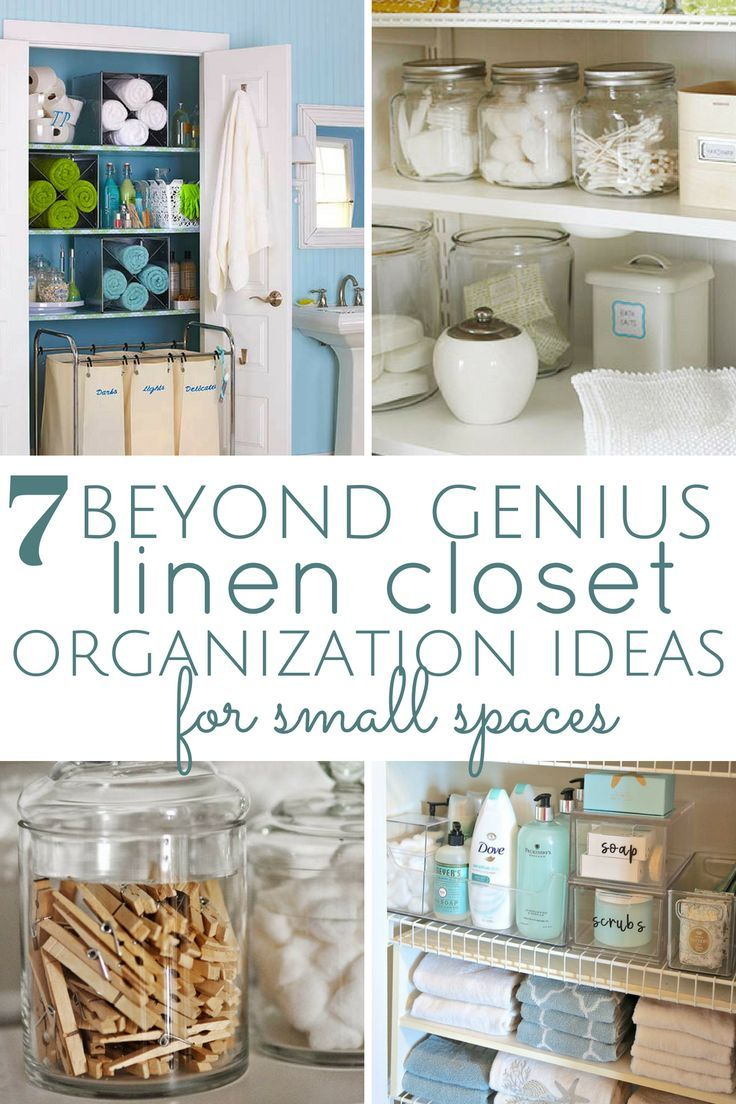 7 Linen Closet Organization Tips for Lazy People | New apartment ...