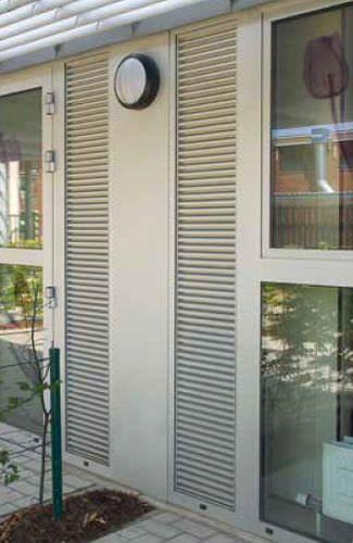 aluminum ventilation grille linear casement 414va. Black Bedroom Furniture Sets. Home Design Ideas