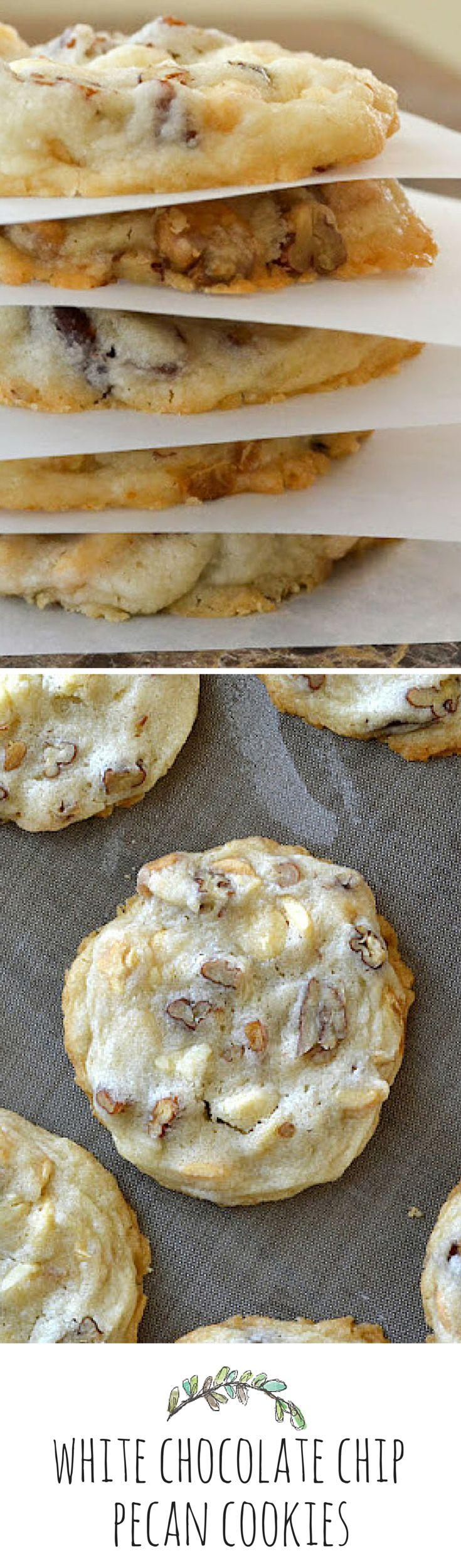 Easy pecan shortbread cookies recipe