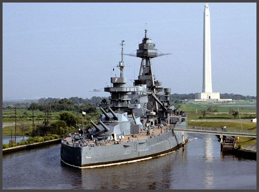 """USS """"Texas"""" BB 35 August 15, 1895 - The battleship USS Texas (BB 35) is commissioned."""