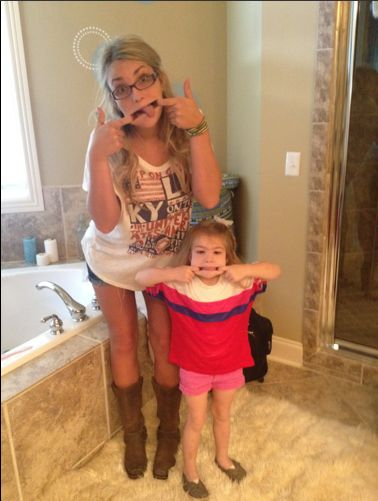 Jamie Lynn Spears and Maddie