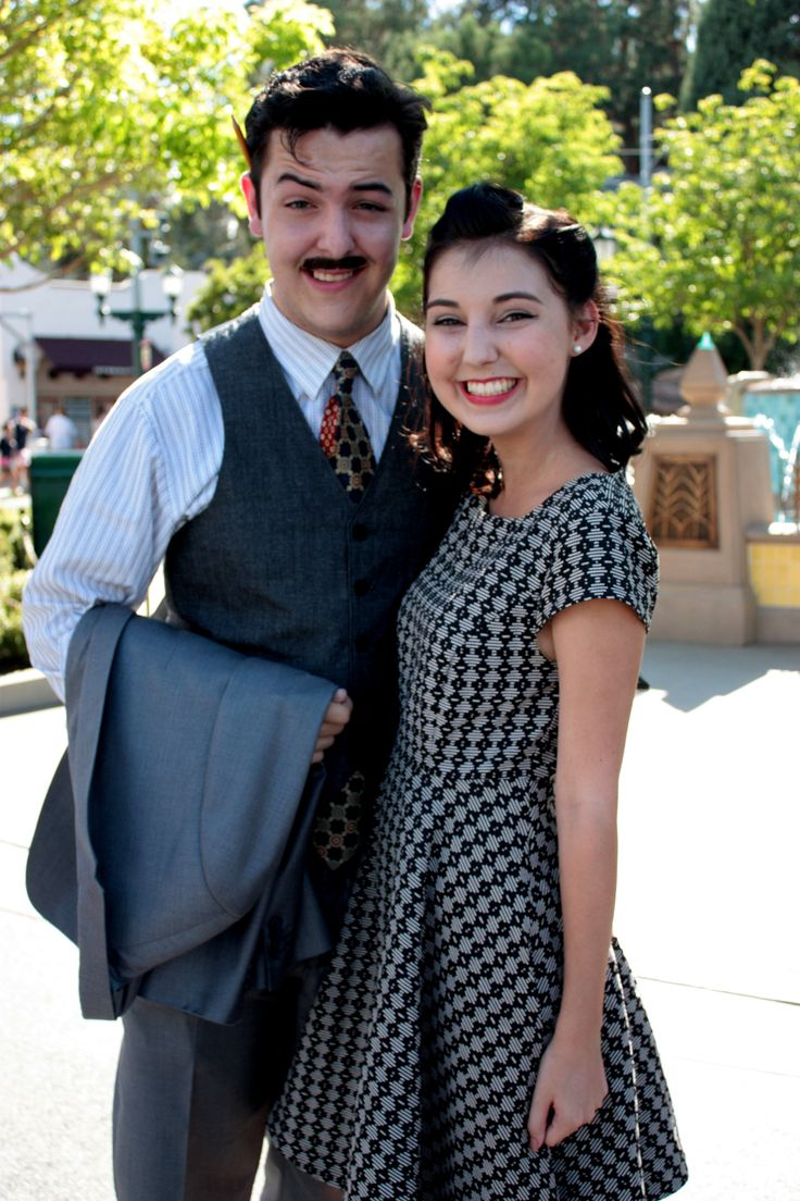 sassypascal:  Walt and Lillian Disney joined the Dapper Day festivities!