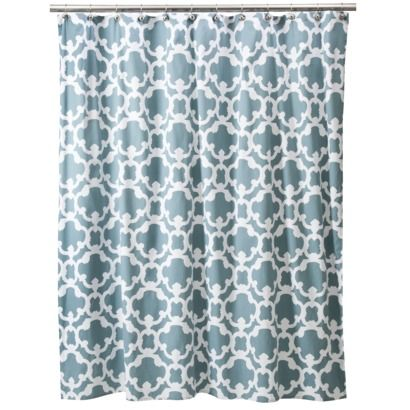 Threshold™ Grid Shower Curtain Home - Blue
