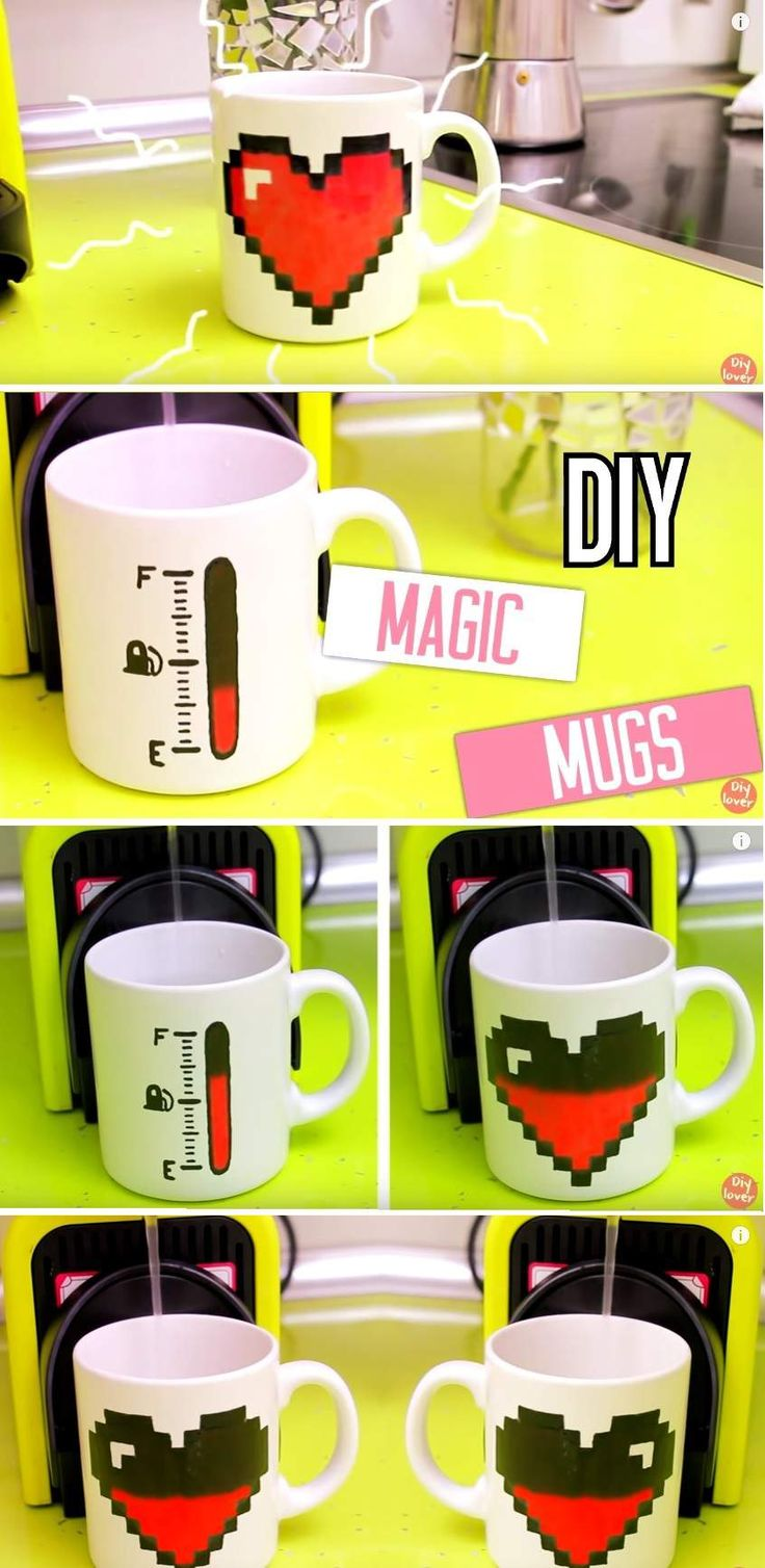 Hi people you probably already heard about heat activated color changing mugs. They can be ordered online and are very cool indeed. But if you are DIY enthusiast and love to spend some time at home making various things than…