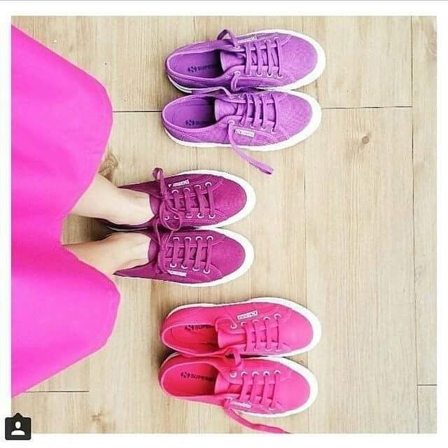 Think Pink! #superga #supergagreece #pink #shoes #sneakers #fashion #moodoftheday #shades