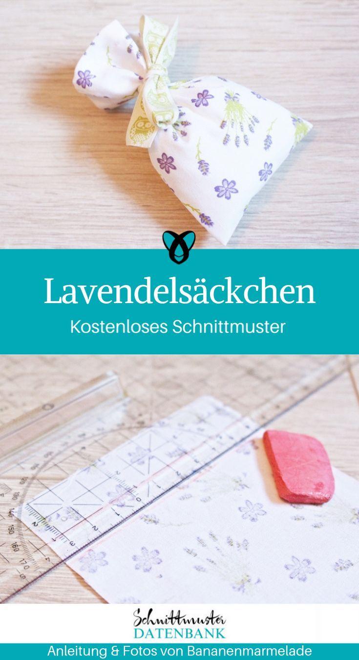 Lavendelsackchen Lavendelsackchen Kleine Geschenke Selber Machen Duftsackchen