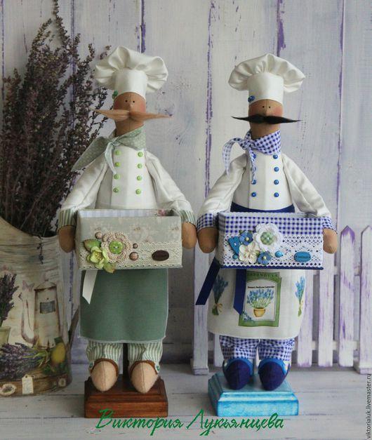 Куклы Тильды ручной работы. Ярмарка Мастеров - ручная работа. Купить Тильда повар. Handmade. Комбинированный, кухня, тильда повар