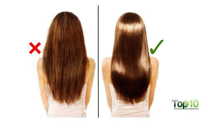 Home Remedies To Get Straight Hair With Images Thick Hair Remedies
